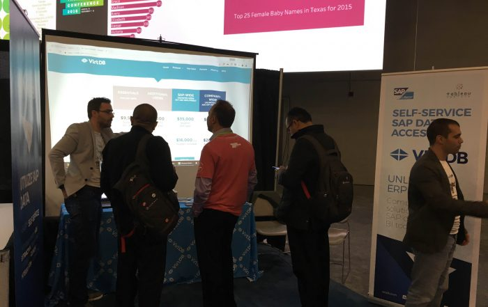 Showing off our SAP ERP data access product at TC16