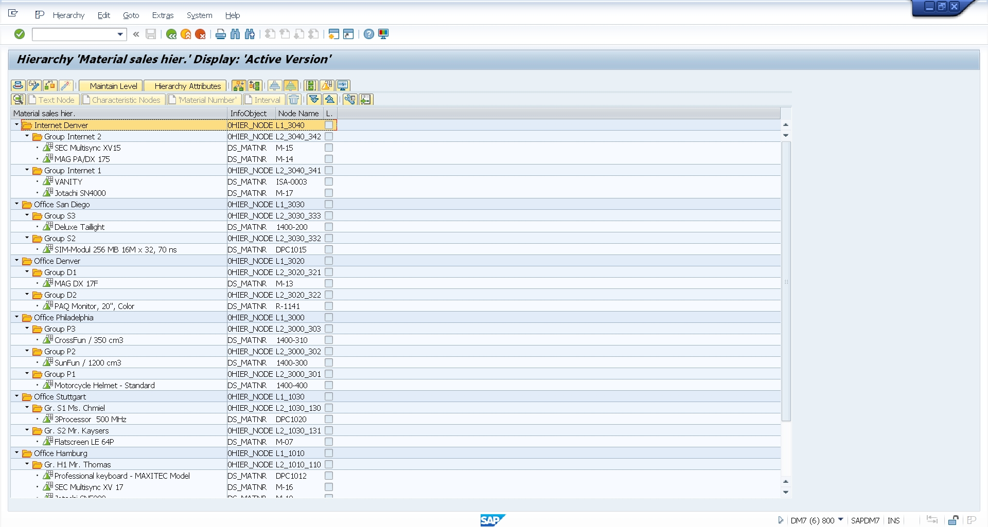 SAP BW Data Extraction with hierarchy flattening - VirtDB
