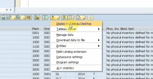 Generate data extraction reports for SAP - VirtDB